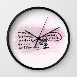 metta Wall Clock