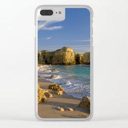 Algarve cove Clear iPhone Case
