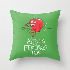 Apple Shot Throw Pillow