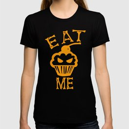 Eat me yellow version T-shirt