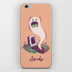 Spooky Ghostie iPhone & iPod Skin