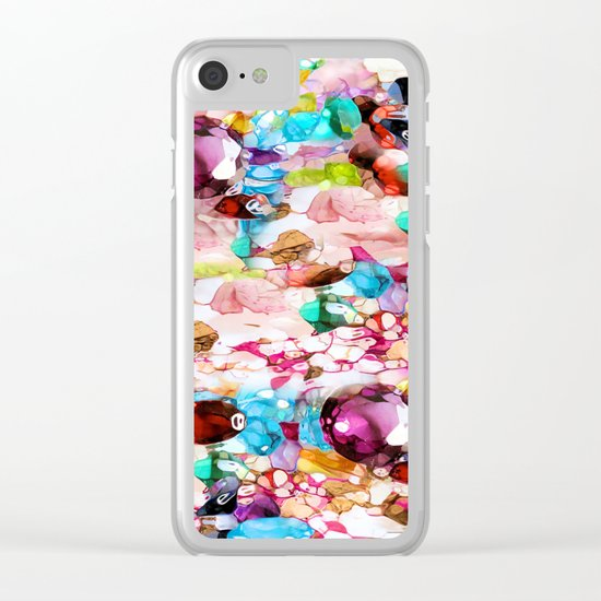 Nasty Girl's Camouflage Clear iPhone Case