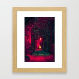 MTL Alleyway Framed Art Print