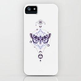 Moth Totem iPhone Case