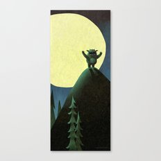 On The Loose Canvas Print