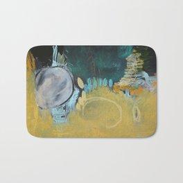 Taupe Art Print  Bath Mat