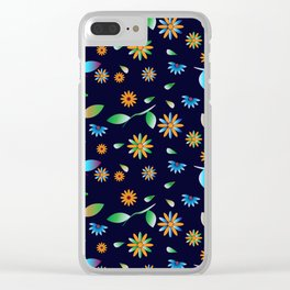 Traditional Inspiration Pattern I Clear iPhone Case