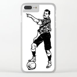 Football Soccer Clear iPhone Case