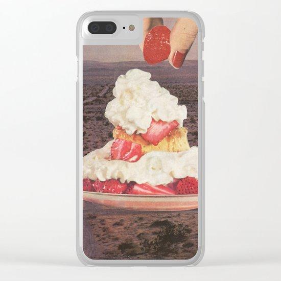 Des(s)ert Clear iPhone Case