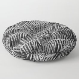 Darkness falls in the forest Floor Pillow