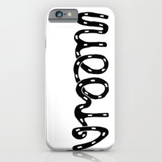 VROOM - handlettering - this is what a VW Beetle would say. I think. Slim Case iPhone 6s