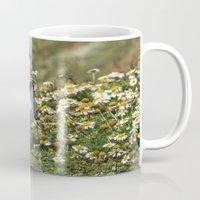puffin Mugs featuring Packing Puffin by Julie Hoddinott