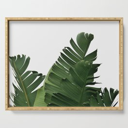 Minimal Banana Leaves Serving Tray