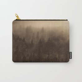 One Hundred Years of Solitude - Tree Forest Mountain Dust #Society6 Carry-All Pouch