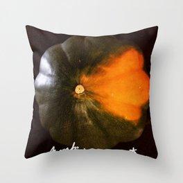 Pumpkin Pumpkin Pumpkin Throw Pillow