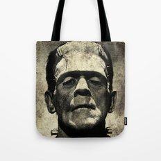 Frankenstein Grunge Tote Bag
