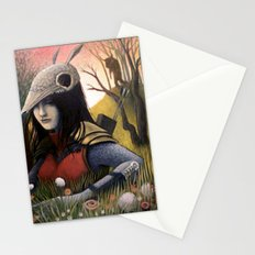Armadillo Girl Stationery Cards