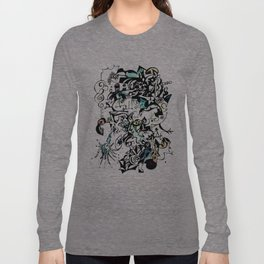 Abstract 5 Long Sleeve T-shirt