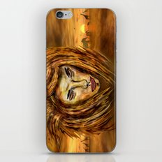The King of Africa iPhone Skin