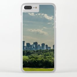 Summer City Clear iPhone Case