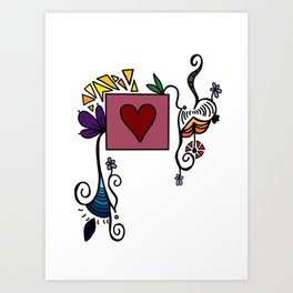 Love Grows, Baby Art Print