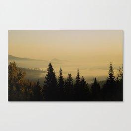 Mount Spokane Canvas Print