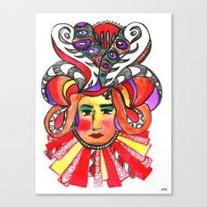 Mean Queen Canvas Print