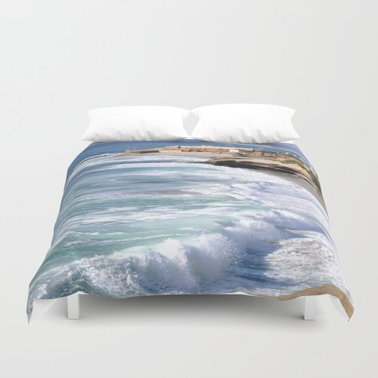 BOYS ON A ROCK 2 Duvet Cover