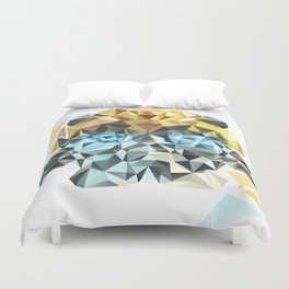 Bumblebee duvet covers society6 bumblebee low poly portrait duvet cover junglespirit Choice Image