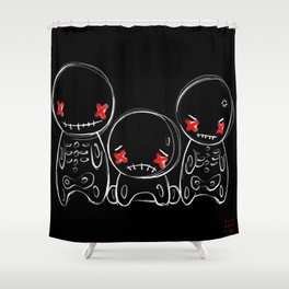 Zu-Gai-Kotsu Shower Curtain