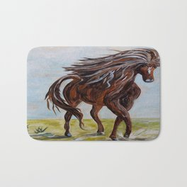 Splashing the Light - Young Horse Bath Mat