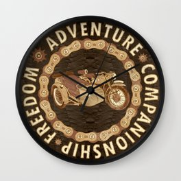 Sidecar Wall Clock