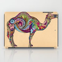 camel iPad Cases featuring Camel by Green Girl Canvas