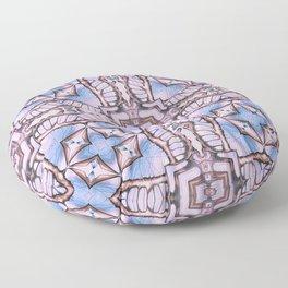 Butterfly Wings Seamles Pattern Floor Pillow