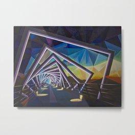 Trestle Bridge Metal Print