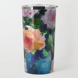 Roses and Fruits Travel Mug