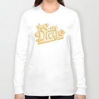 san diego Long Sleeve T-shirts featuring San Diego by GetSolidGold