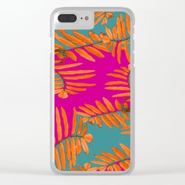 Leaves In Autumn Colors #decor #society6 #buyart Clear iPhone Case