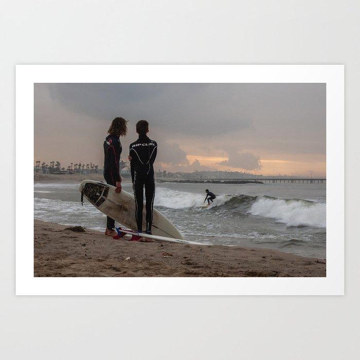 Venice Beach II Art Print