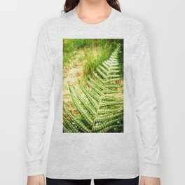 Green Fern Long Sleeve T-shirt