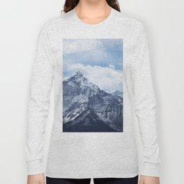 Snowy Mountain Peaks Long Sleeve T-shirt