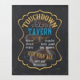 Touchdown Tavern Canvas Print