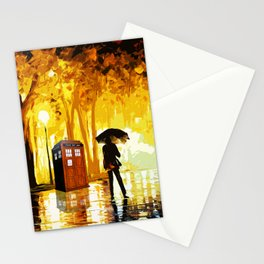 Somebody Looking The Tardis Stationery Cards