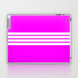 4 Stripes on Pink Laptop & iPad Skin
