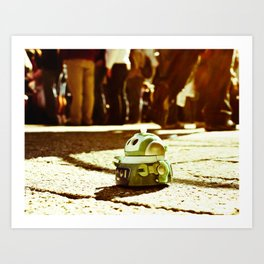 urban parade  Art Print