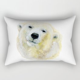 Polar Beary Rectangular Pillow
