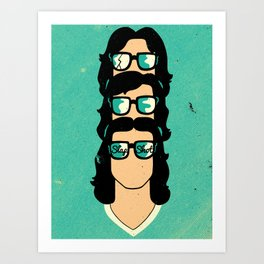 Slap Shot Art Print