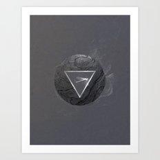 Mystic Pebbles No. 1 Art Print