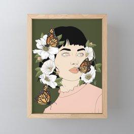 Butterfly Kisses Framed Mini Art Print