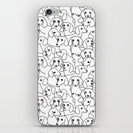Oh Dachshund iPhone Skin